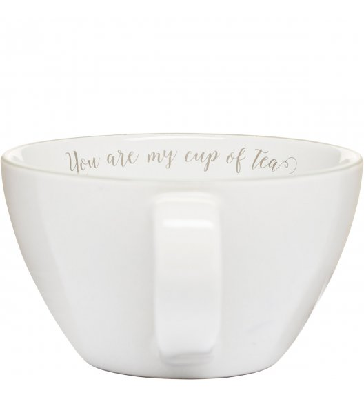 SAGAFORM Duża filiżanka do herbaty 0,7 l biała TEA / FreeForm