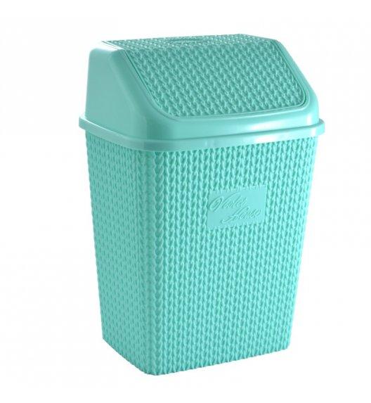 TADAR Kosz na śmieci TRECA 10 l miętowy / tworzywo sztuczne
