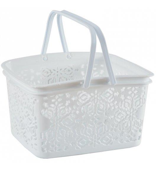 TADAR Koszyk na klamerki 4 l biały / tworzywo sztuczne