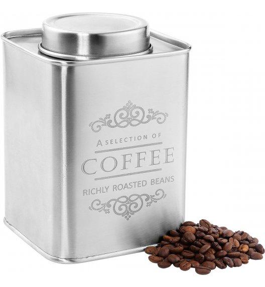 ZASSENHAUS Pojemnik na kawę satynowy MOCCA 500 g / Stal nierdzewna