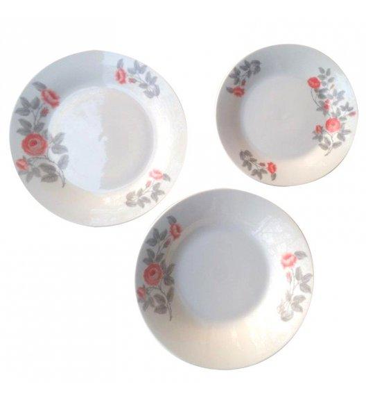 TADAR PEONY Serwis obiadowy 18 elementów dla 6 osób / ceramika