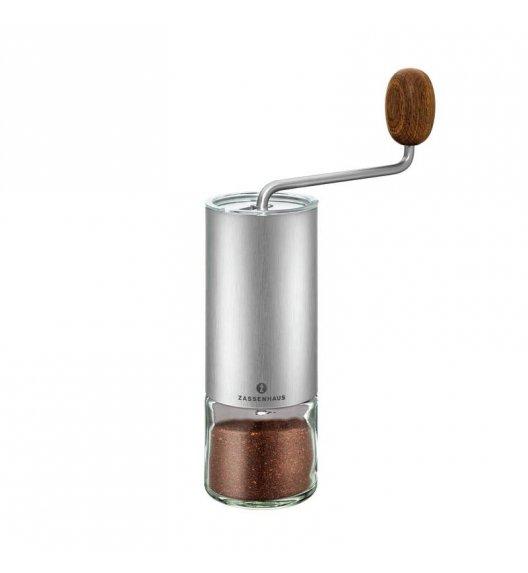 ZASSENHAUS Młynek do kawy QUITO stalowy / FreeForm