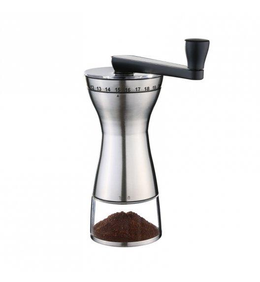 ZASSENHAUS Młynek do kawy MANAOS stalowy / FreeForm