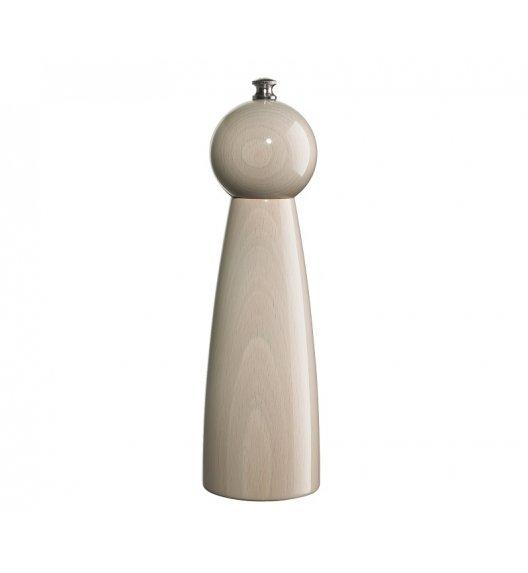 ZASSENHAUS Młynek do pieprzu ⌀ 6 × 22 cm ROGENSBURG biały / FreeForm