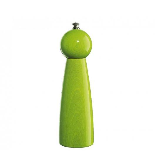 ZASSENHAUS Młynek do pieprzu ⌀ 6 × 22 cm ROGENSBURG zielony / FreeForm