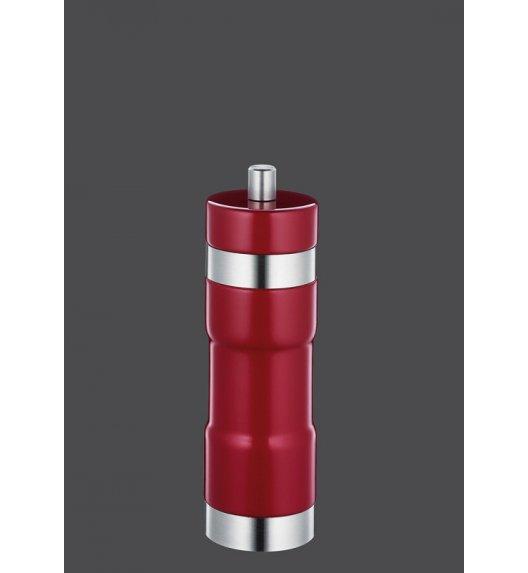 ZASSENHAUS Młynek do soli ⌀ 5,5×18 cm ESSEN czerwony / FreeForm