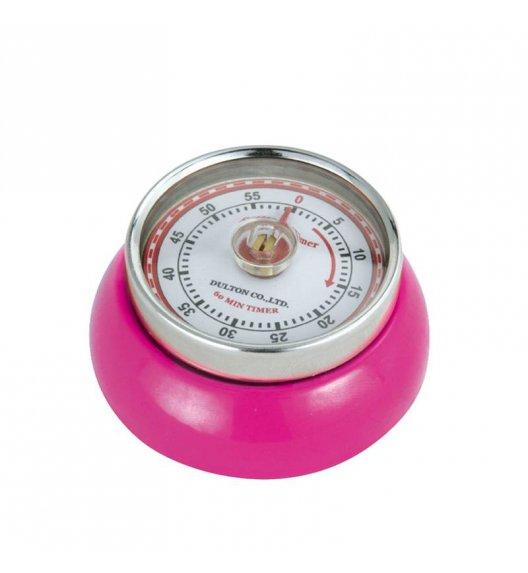 ZASSENHAUS Timer mechaniczny  ⌀ 7×3 cm SPEED magenta / FreeForm