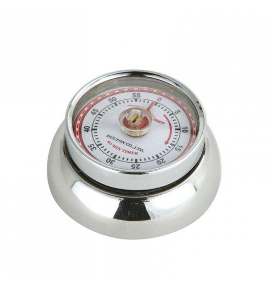 ZASSENHAUS SPEED Timer mechaniczny ⌀ 7 cm stalowy / FreeForm