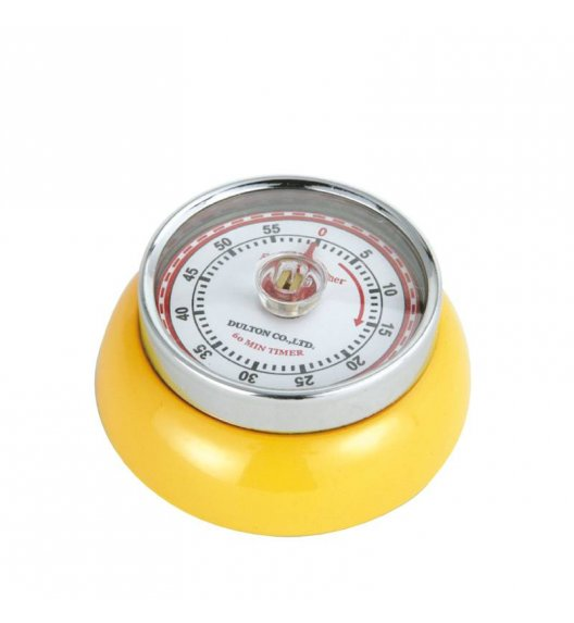 ZASSENHAUS SPEED Timer mechaniczny ⌀ 7 cm żółty / FreeForm