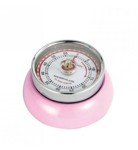 ZASSENHAUS SPEED Timer mechaniczny ⌀ 7 cm różowy / FreeForm