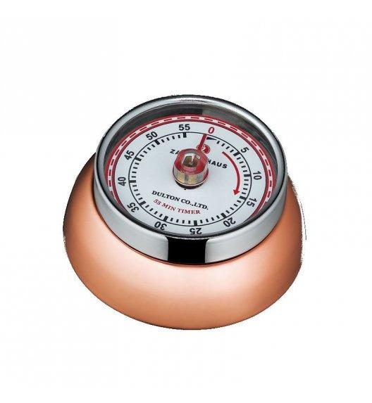 ZASSENHAUS SPEED Timer mechaniczny ⌀ 7 cm miedziany / FreeForm