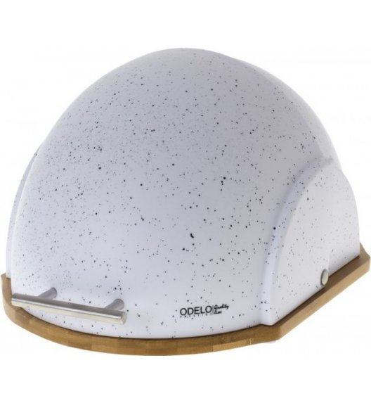 ODELO Chlebak akrylowy VIDIO biały / tworzywo sztuczne OD1550