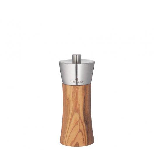 ZASSENHAUS Młynek do soli ⌀ 5,5 × 14 cm AUGSBURG jasne drewno / FreeForm