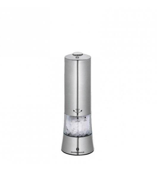 ZASSENHAUS Elektryczny młynek do soli GERA ⌀ 6,2 x 18 cm / FreeForm