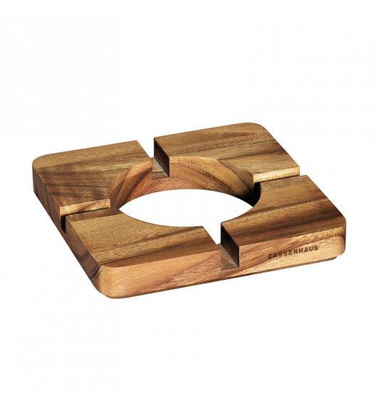 ZASSENHAUS Podkładka pod tablet z drewna akacjowego 20 × 20 × 3 cm / FreeForm