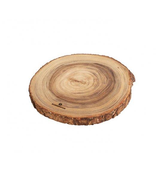 ZASSENHAUS Okrągła deska do serwowania z drewna akacjowego ⌀ 32 cm / FreeForm