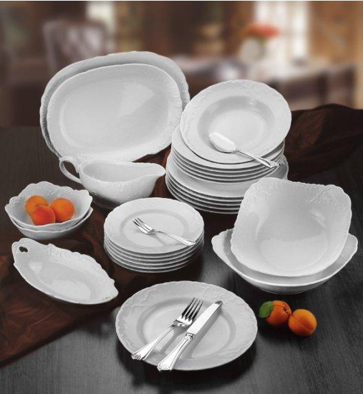 ĆMIELÓW ROCOCO Serwis obiadowy 44 el / 12 osób / porcelana
