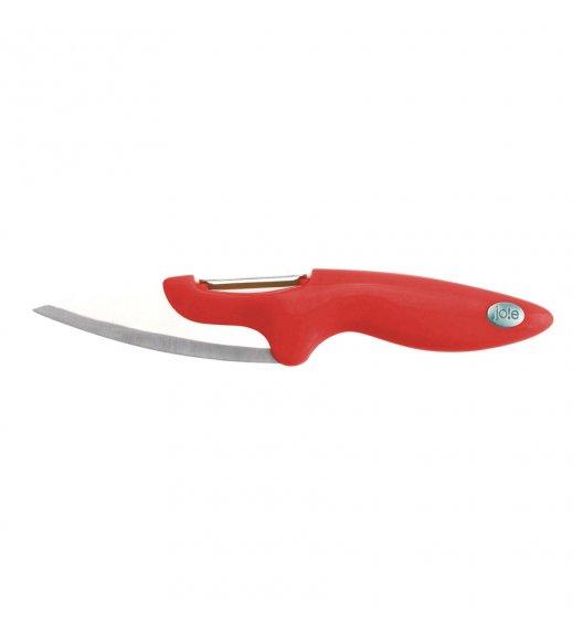 MSC Nóż z obierakiem do warzyw 20 cm czerwony / FreeForm