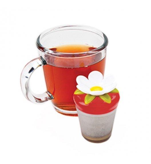 MSC Zaparzaczka do herbaty TEA & COFFEE czerwony kwiat / FreeForm