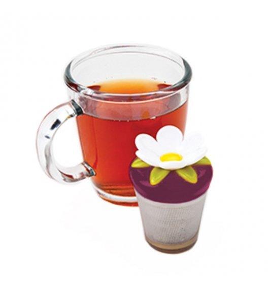MSC Zaparzaczka do herbaty TEA & COFFEE fioletowy kwiat / FreeForm