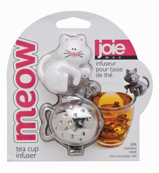 MSC Zaparzaczka do herbaty ⌀ 4 cm TEA & COFFEE biały kot / FreeForm