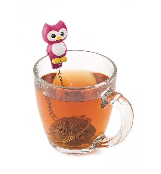 MSC Zaparzaczka do herbaty ⌀ 4 cm HOOT różowy / FreeForm