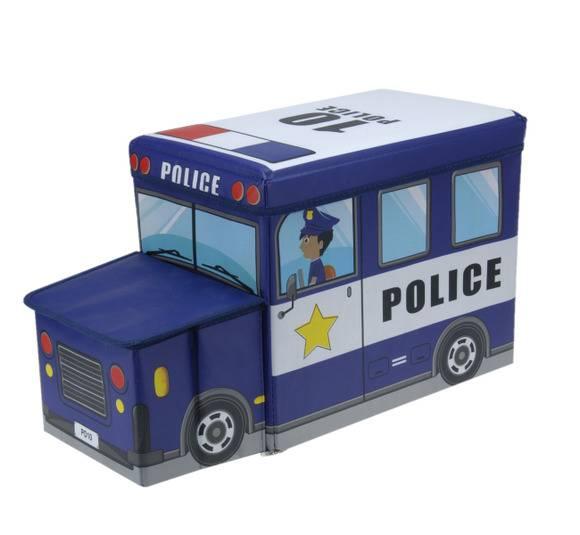 WYPRZEDAŻ! EH EXCELLENT HOUSEWARE Pojemnik / pufa do przechowywania dla dzieci Police 47L  / Koopman