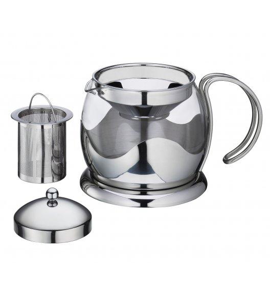 KUCHENPROFI Dzbanek do herbaty z zaparzaczem 1,25 L EARL GREY szkło / FreeForm