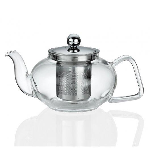 KUCHENPROFI Dzbanek do herbaty z zaparzaczem 0,4 L TIBET szkło / FreeForm