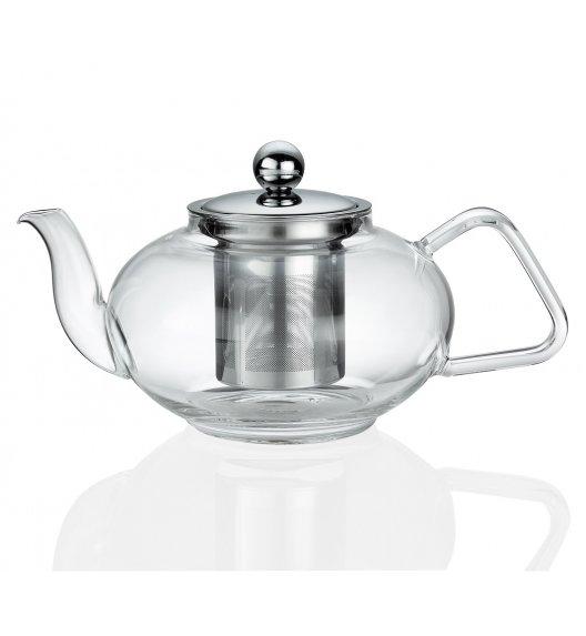 KUCHENPROFI Dzbanek do herbaty z zaparzaczem 0,8 L TIBET szkło / FreeForm