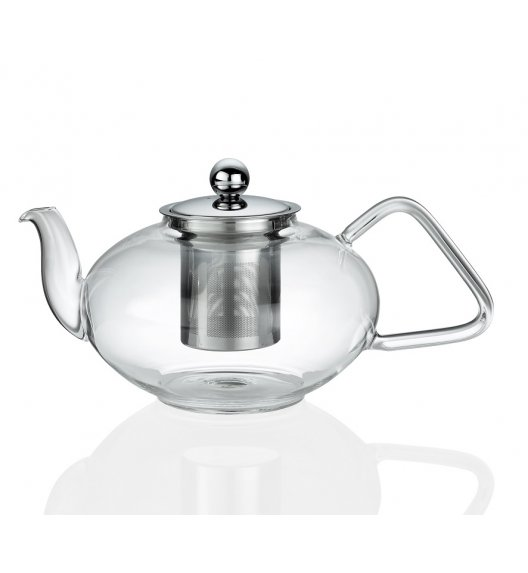KUCHENPROFI Dzbanek do herbaty z zaparzaczem 1,2 L TIBET szkło / FreeForm