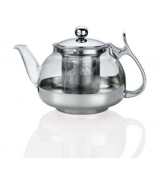KUCHENPROFI Dzbanek do herbaty z zaparzaczem 1,2 L LOTUS szkło / FreeForm