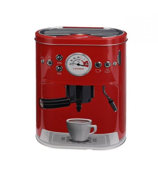 WYPRZEDAŻ! HOME&STYLING COLLECTION Pojemnik kuchenny ze stali nierdzewnej czerwony