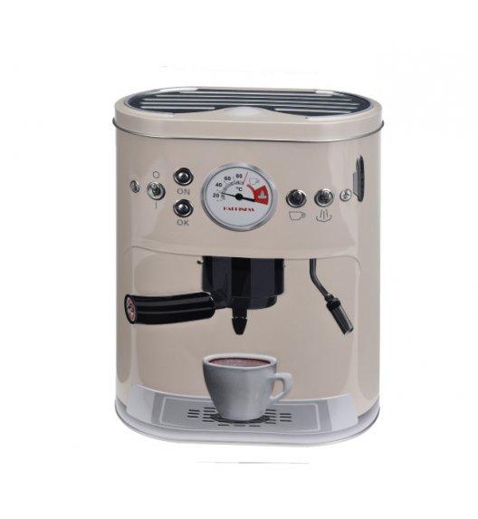 WYPRZEDAŻ! HOME&STYLING COLLECTION Pojemnik kuchenny ze stali nierdzewnej beżowy