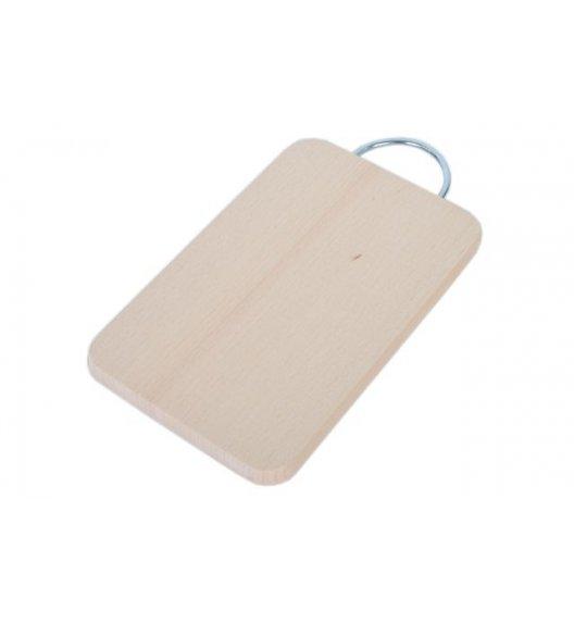 ODELO Drewniana deska do krojenia z metalową rączką 24 x 16 cm / OD7008