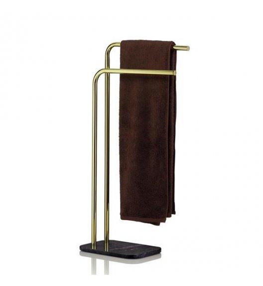 KELA Podwójny wieszak łazienkowy na ręczniki 80,5 cm LIRON / FreeForm