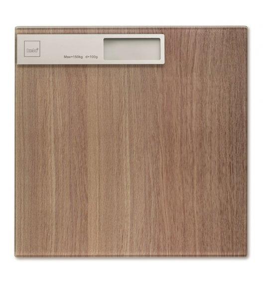 KELA Waga łazienkowa 30 x 30 cm OAK drewno dębowe / FreeForm