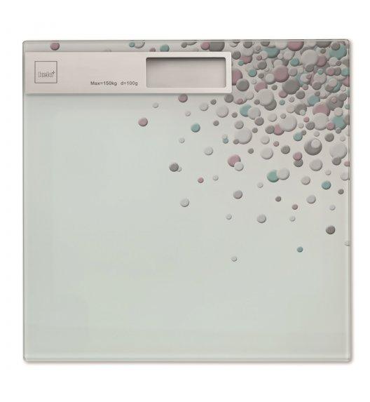 KELA Waga łazienkowa 30 x 30 cm BUBBLES / FreeForm