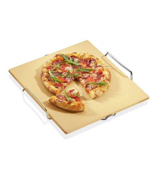KUCHENPROFI Kamień do pieczenia pizzy na stelażu 38 x 35 cm / FreeForm
