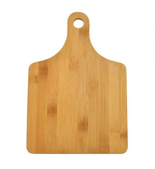 TADAR Deska do krojenia z rączką 27 x 18 cm MANICO / drewno bambusowe