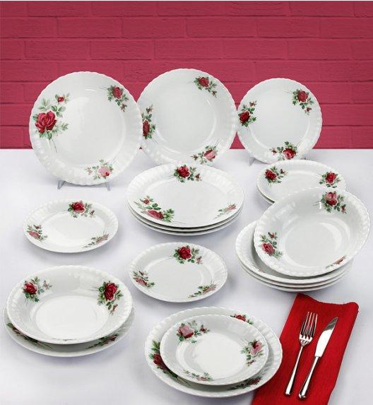 CHODZIEŻ IWONA B826 Serwis obiadowy 18 el / 6 osób / porcelana
