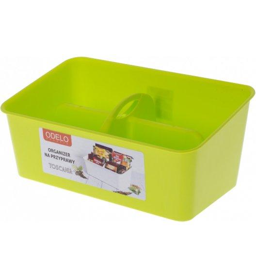 ODELO TOSCANIA Organizer / pojemnik na przyprawy zielony / OD8029