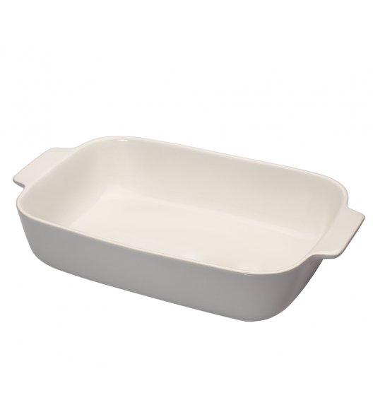KUCHENPROFI Ceramiczne naczynie do zapiekania 36 cm kremowe / ceramika / FreeForm