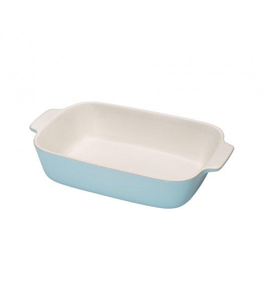 KUCHENPROFI Ceramiczne naczynie do zapiekania 30 cm błękitne / ceramika / FreeForm