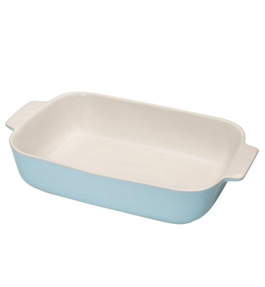 KUCHENPROFI Ceramiczne naczynie do zapiekania 36 cm błękitne / ceramika / FreeForm