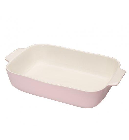 KUCHENPROFI Ceramiczne naczynie do zapiekania 36 cm różowe / ceramika / FreeForm