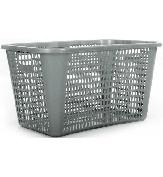 ODELO PLASTIC Kosz do przechowywania / na pranie 65 L / srebrny / OD8009