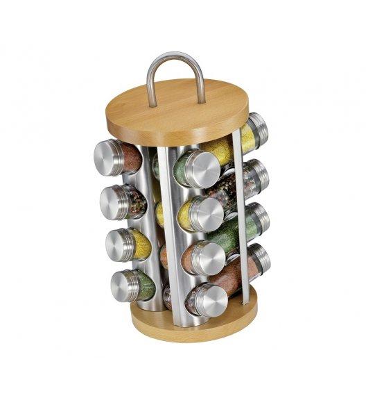KUCHENPROFI Obrotowy stojak na 16 przypraw ⌀ 20x31 cm / drewno bukowe / FreeForm