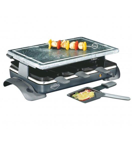 KUCHENPROFI Raclette / grill stołowy dla 8 osób / stal nierdzewna / FreeForm