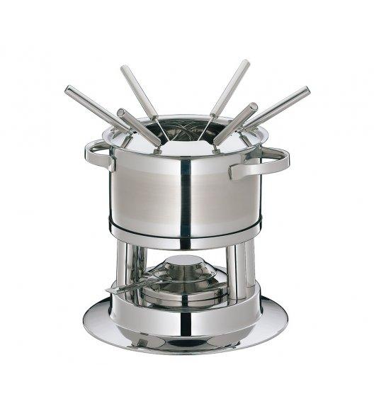 KUCHENPROFI Zestaw do fondue 1,6 l / LUGANO stal nierdzewna / FreeForm